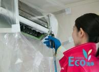 壁掛けタイプオプションのエコ洗浄